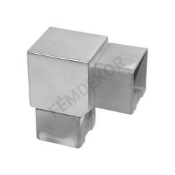 Sarok idom 40x40mm-es zártszelvényhez (90°-os)
