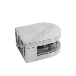 Üvegtartó síkra (50x40, 10mm-es üveghez)