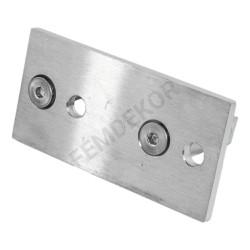 Oszlop tartó konzol zártszelvényhez (téglalap)